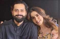 منشا پاشا اور جبران ناصر کی منگنی کو ایک سال مکمل ہوگیا