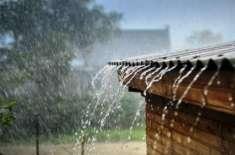 ملک میں داخل ہونے والے بارشوں کا سسٹم کئی علاقوں تک پھیل گیا