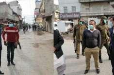 ڈپٹی کمشنر جہلم کا شہر کے مختلف مقامات پر دورہ ،صفائی ستھرائی کے انتظامات ..
