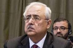 اٹارنی جنرل انور منصور نے استعفیٰ دے دیا