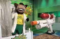 ٹی وی گیم شو نے دنیا کی سب سے بڑی واٹر گن بنا کر عالمی ریکارڈ توڑ دیا