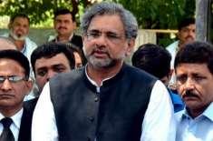 عمران خان ملک کے سب سے بے اختیار وزیر اعظم ہیں . شاہدخاقان عباسی