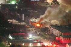 امریکی شہر ہیوسٹن میں زوردار دھماکہ