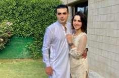 نمرہ خان نے شوہرسے علیحدگی اختیار کرلی