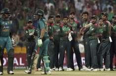 ریڈیو پاکستان نے پاکستان اور بنگلہ دیشن کے مابین 24 جنوری سے شروع ہونے ..
