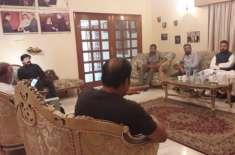 اسماء شاہ کی رہائش گاہ پر نارتھ ناظم آباد محلہ کمیٹیوں کے عہدیداران ..