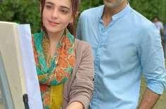 سمیع خان پہلی بار سنبل اقبال کے ساتھ ڈرامہ سیریل''دلہن'' میں دکھائی ..