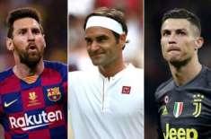 ٹینس سٹار راجر فیڈرر دنیا کے امیرترین کھلاڑی بن گئے