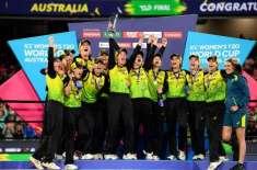 بھارت پھر فائنل میں ناکام،دفاعی چیمپئن آسٹریلیا نے ورلڈ ویمنز ٹی ..