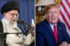 نیوکلیئر ڈیل سے متعلق امریکہ سے کوئی بات نہیں ہو گی،ایرانی سپریم لیڈر