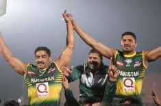 قومی کبڈی ٹیم نے پہلی بار ورلڈ چیمپئن کا اعزاز حاصل کر کے نئی تاریخ ..