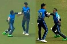 بنگلہ بدھو کپ،مشفیق الرحیم ساتھی کرکٹرپرآگ بگولہ، گیند مارنے کا اشارہ