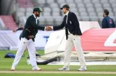 پہلا ٹیسٹ، پاکستان کا انگلینڈ کیخلاف ٹاس جیت کر بیٹنگ کا فیصلہ