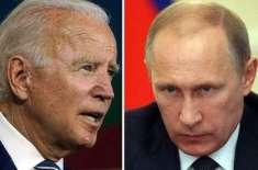 جوبائیڈن کو بطور امریکی صدر ابھی تسلیم کرنے کو تیار نہیں، پیوٹن