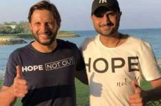 Harbhajan Singh also credited Shahid Afridi's humanitarian spirit