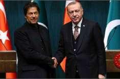 وزیراعظم عمران خان کا ترک صدر رجب طیب اردوان سے ٹیلی فونک رابطہ