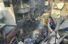 حویلیاں طیارہ حادثے میں لاشوں کی شناخت کرنیوالی فرانزک ماہرین کی ٹیم ..
