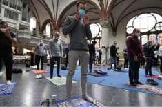جرمنی: چرچ  کی جانب سے نمازوں کی ادائیگی کے لیے جگہ فراہم کردی