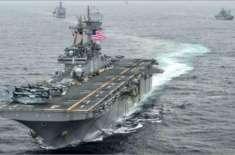 ایران پر حملے کے لیے آئی امریکی فوج کےبحری جہازوں میں کورونا وائرس ..