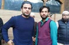 لاک ڈاؤن کے باوجود کرکٹر احمد شہزاد اہلِ خانہ کے ہمراہ شمالی علاقہ ..