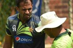 """Wahab Riaz appealed to Waqar Younis to """"shake hands"""" Come along with Pacer's childhood, it's sad if you don't perform as .."""