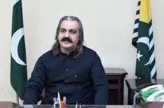 وزیراعظم عمران خان جلد کشمیری عوام کو خوشخبری دیں گے، علی امین گنڈا ..