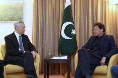 وزیراعظم عمران خان سے سنگاپور کے وزیراعظم کی ملاقات ،تجارت وسرمایہ ..