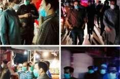 ڈسٹرکٹ پولیس آفیسر جہلم اور ڈپٹی کمشنر جہلم کا گزشتہ رات مین بازار ..
