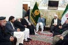ملی یکجہتی کونسل کا وفد ایران کا دورہ مکمل کرنے کے بعد وطن واپس پہنچ ..
