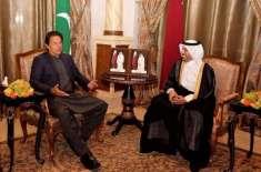 عمران خان آج امیر قطر تمیم بن حمد آل ثانی سے ملاقات کریں گے
