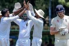 انگلینڈ اور سری لنکا کے درمیان پہلاٹیسٹ میچ 19 مارچ سے 23مارچ تک گال انٹر ..