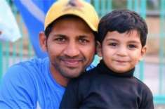 سرفراز احمد کی سورۃ فاتحہ کی تلاوت،ننھے بیٹے کی دعا،ویڈیو وائرل
