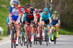 فرانس کے ارناڈ ڈامیر نے گیرو ڈی اٹالیہ سائیکل ریس کا چوتھا مرحلہ اپنے ..