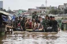 انڈونیشیا، سیلاب کے باعث 7 افراد ہلاک، 23 زخمی