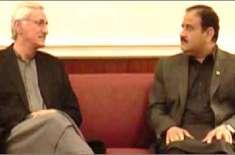 عثمان بزدار کی جہانگیر ترین سے اقتدار کی برقراری کےلیے درخواست