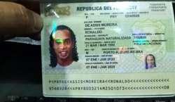 پیراگوئے: سابق فٹ بالررونالڈینو جعلی پاسپورٹ استعمال کرنے کے الزام ..