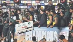 بلوچستان عوامی پارٹی کی قومی ٹیم کو کبڈی کا ورلڈ چیمپئن بننے پر مبارکباد