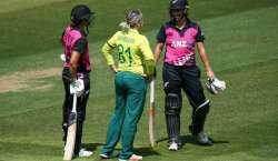 نیوزی لینڈ اور جنوبی افریقہ کی خواتین ٹیموں کے درمیان پانچواں اور آخری ..
