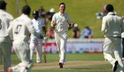 ویلنگٹن ٹیسٹ، نیوزی لینڈ نے بھارت کو 10 وکٹوں سے ہرا کر دو میچوں کی سیریز ..