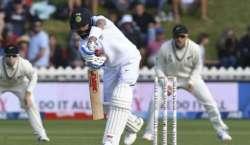 نیوزی لینڈ اور بھارت کی کرکٹ ٹیموں کے درمیان دوسرا اور آخری ٹیسٹ میچ ..