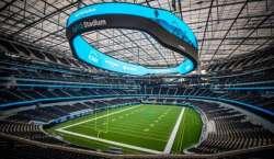 لاس اینجلس میں فٹ بال کے نئے اسٹیڈیم کا 100 سال بعد افتتاح کر دیا گیا
