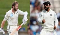 نیوزی لینڈ اور بھارت کی کرکٹ ٹیموں کے درمیان پہلا ٹیسٹ میچ پرسوں شروع ..