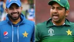 دورہ انگلینڈ ،سابق کپتان سرفراز احمد اور محمد رضوان وکٹ کیپر کی حیثیت ..