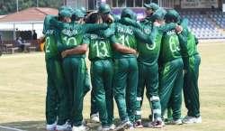 دو مرتبہ کی چمپئن پاکستان انڈر 19 ٹیم افغانستان انڈر19 ٹیم کیخلاف میچ ..