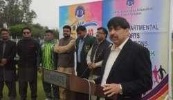 کامسیٹس یونیورسٹی لاہور میں سپورٹس ویک کا آغاز
