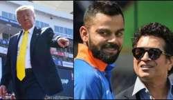ڈونلڈ ٹرمپ دورہ بھارت کے دوران سچن ٹنڈولکر اور ویرات کوہلی کا نام غلط ..