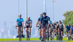 دبئی کے ولی عہد کی 20 کلومیٹر تک سائیکلنگ