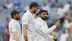 نیوزی لینڈ اور بھارت کی کرکٹ ٹیموں کے درمیان پہلا ٹیسٹ میچ 21 فروری سے ..