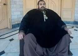 445 کلو وزنی پاکستانی ویٹ لفٹر خان بابا کو دُلہن کی تلاش