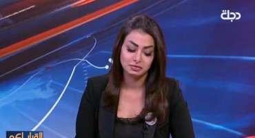 عراقی خاتون اینکر نے صبر اور حوصلے کی نئی مثال قائم کر دی